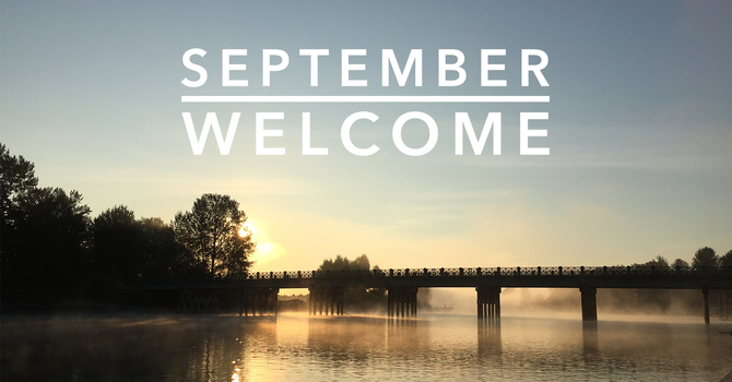 September Welcome image