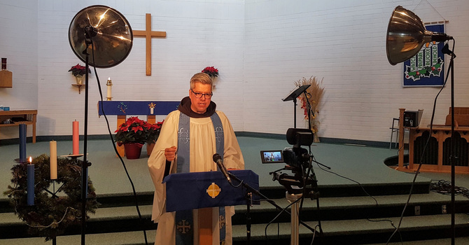 Recording Online Services at St. Augustine's Anglican Church Parkland image