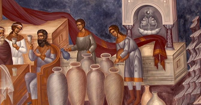 Unpacking Sunday's Sermon: the Wedding at Cana image