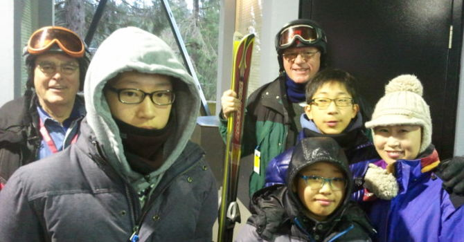 Night Skiing with the Ims image