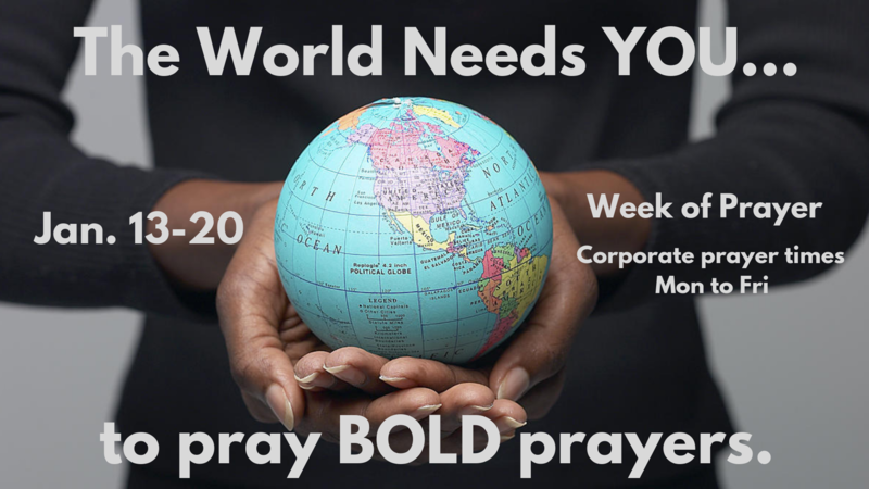 PM Service/ Pray BOLD Prayers