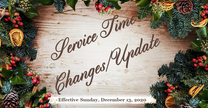 Return to 2 Services: Sunday, Dec 13th image
