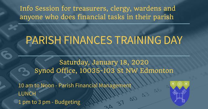 Parish Finances Training Day