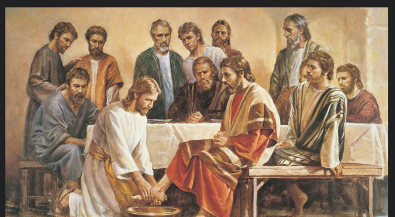 Lent 5: The Last Supper and the Washing of Feet.