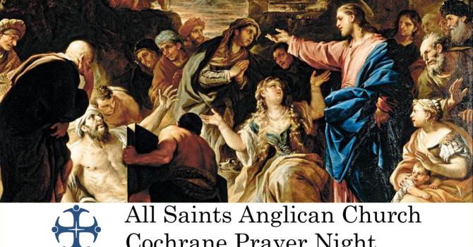 Cochrane Prayer Night April 29