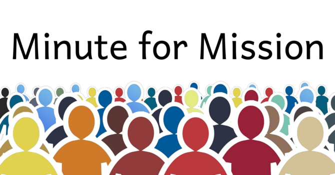Minute for Mission: People in Partnership image
