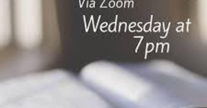 Wednesday Bible Study on Zoom 7pm