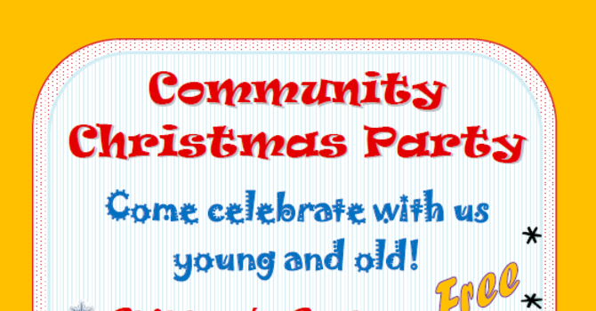 Community Christmas Party