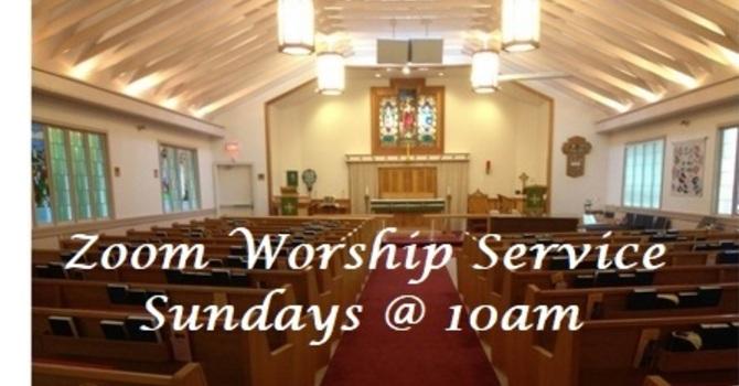 Sunday Worship Service on Zoom 10am
