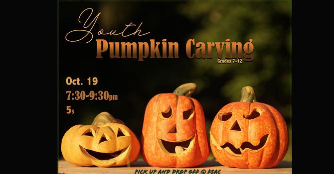 Youth- Grade 7-12 - Pumpkin Carving $5
