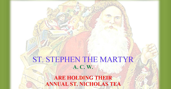 Time for Tea at St. Stephen's
