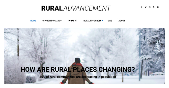 New Life and the Woodstock Hope Center featured on Rural Advancement image