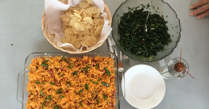 Janis' Kitchen - Mexican Dip and Kale Salad