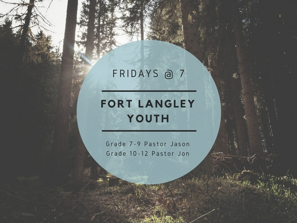 FORT LANGLEY YOUTH THIS WEEK