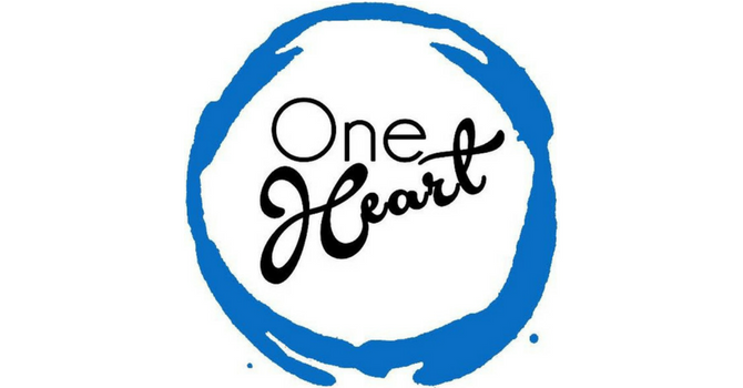 We are all one heart image