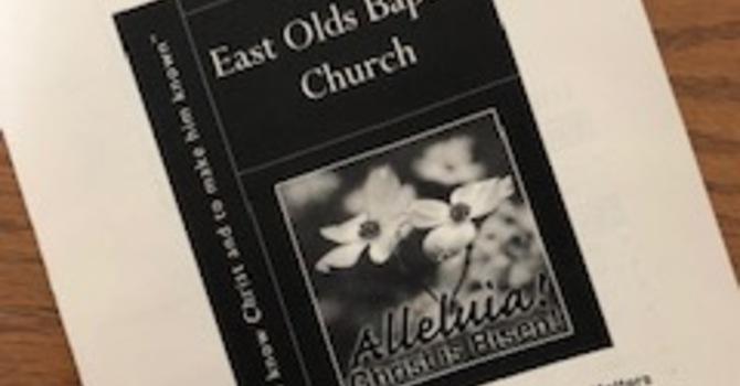 April 21, 2019 Church Bulletin image