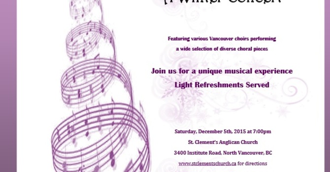 With One Voice, a Winter Concert