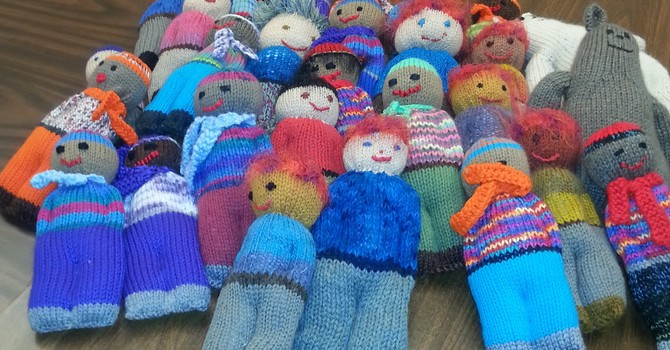 Knitting Group Sends Care Packages Far and Wide image