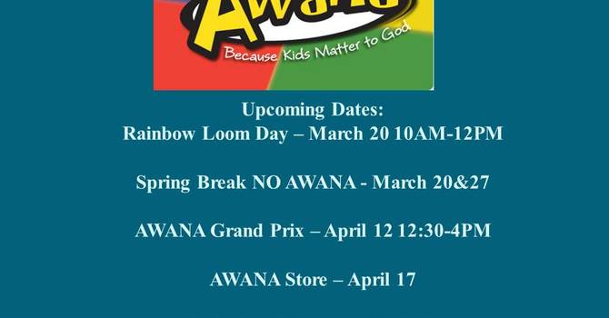 AWANA Spring Newsletter image
