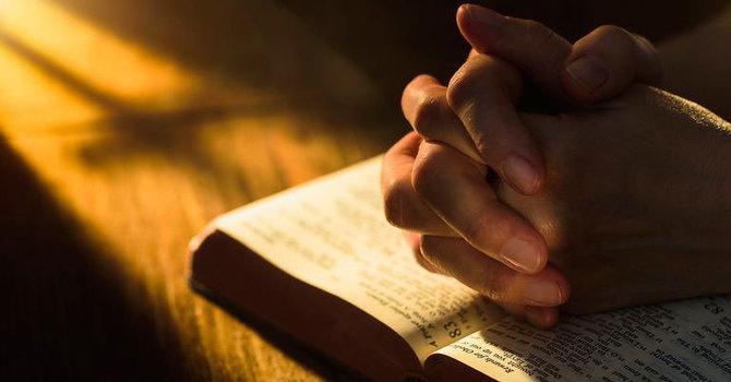 Matthew 6:5-14  and Romans 8:22-28 image
