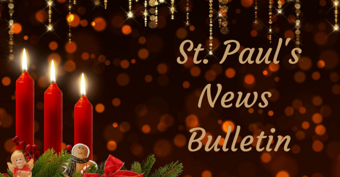 St. Paul's December 13th News Bulletin image