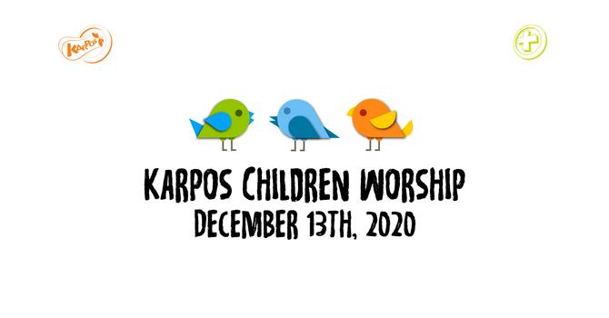 201213 Elementary Sunday Worship
