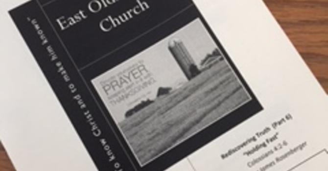 February 26, 2017 Church Bulletin image