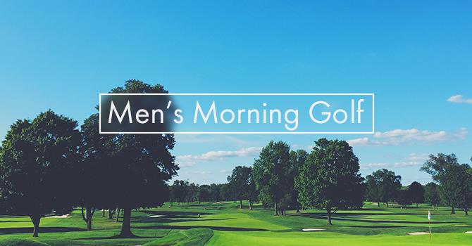 Men's Morning Golf