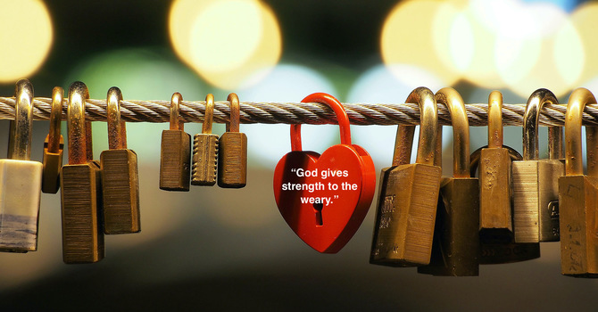 Holding on to God's Promises During COVID 19: God gives us new strength