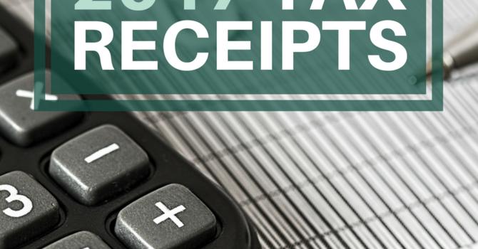 2017 Tax Receipts image