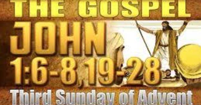 Gospel of John Advent 3 image