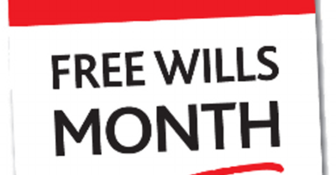 May is Free Wills Month image