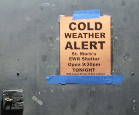St. Mark's Extreme Weather Shelter
