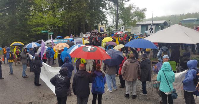 Faith in Action: Interfaith Kinder Morgan Protest image