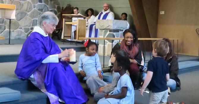 We welcome Bishop Melissa image