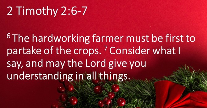 Farming for the Lord