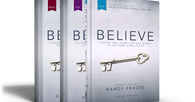 """BELIEVE""  Living the Story of the Bible to Become Like Jesus image"