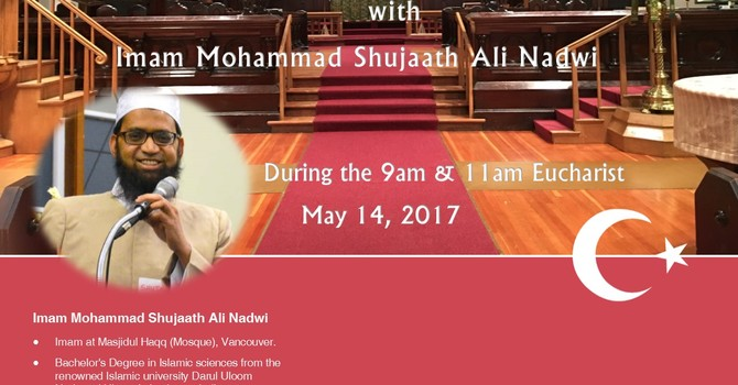 Imam Mohammad Shujaath at St. Paul's
