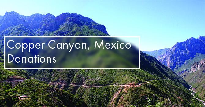 Copper Canyon, Mexico Donations image