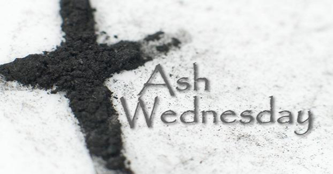 ASH WEDNESDAY statement image