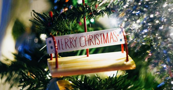 Christmas Blessings image