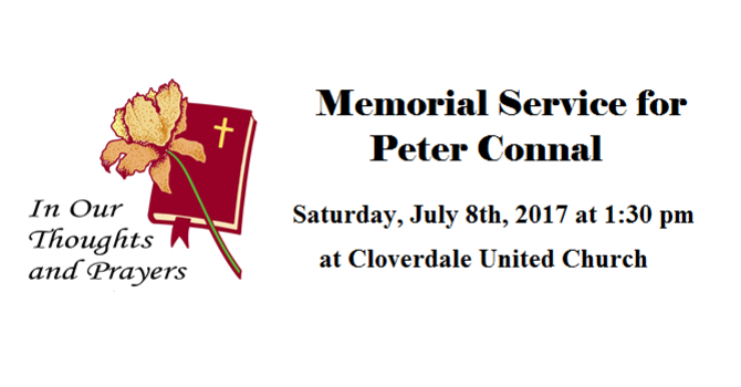 Memorial Service Announcement image