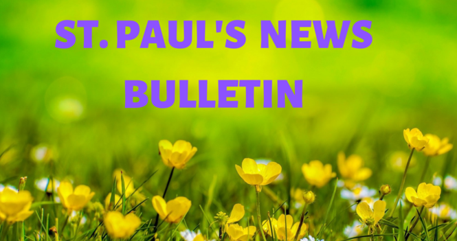 St. Paul's July News Bulletin