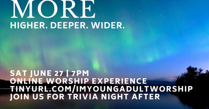 Online Worship: Infinitely More