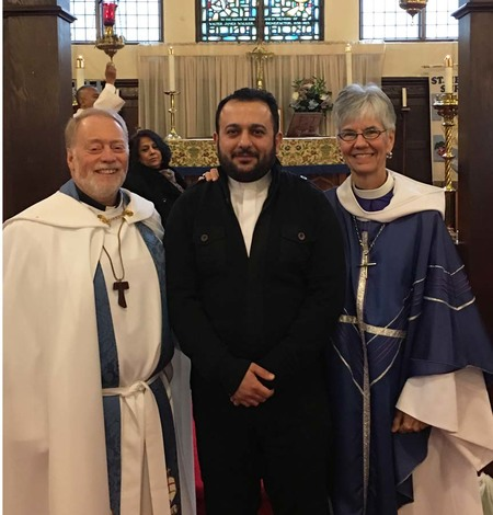 Reception of Ayoob Shawkat Adwar as Priest in the Anglican Church