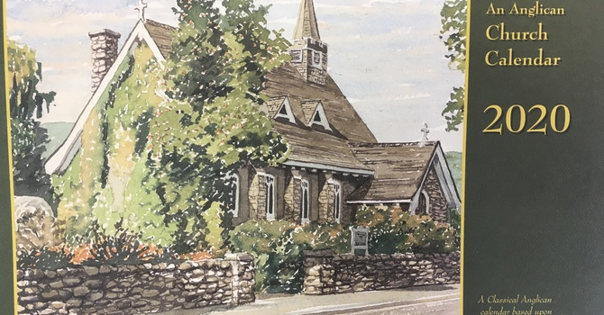 Order your Anglican Church calendar image