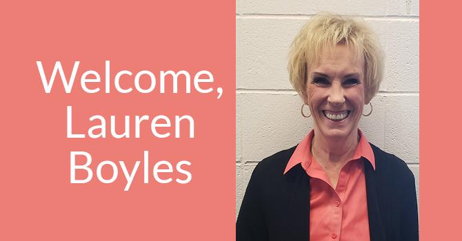 Welcome, Lauren Boyles image