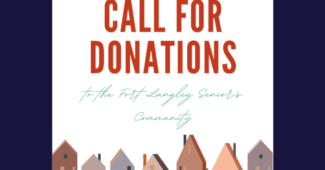 Call for Donations image