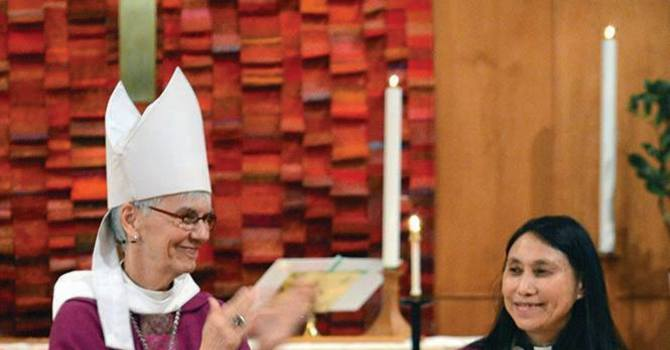 Investiture of Rev Marion Wong as Vicar image