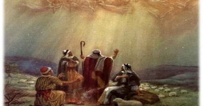 Shepherds with Good News image